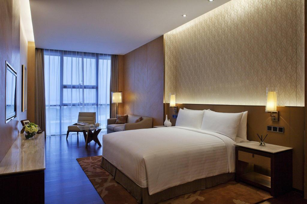 1 Bedroom Apartment, 1 King, Harbor view - Ranjang The OCT Harbour, Shenzhen - Marriott Executive Apartments