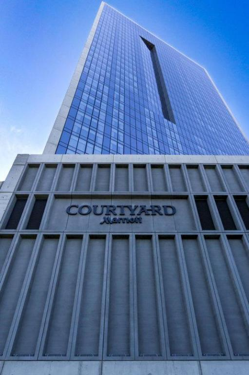 Courtyard Long Island City/New York Manhattan View in New
