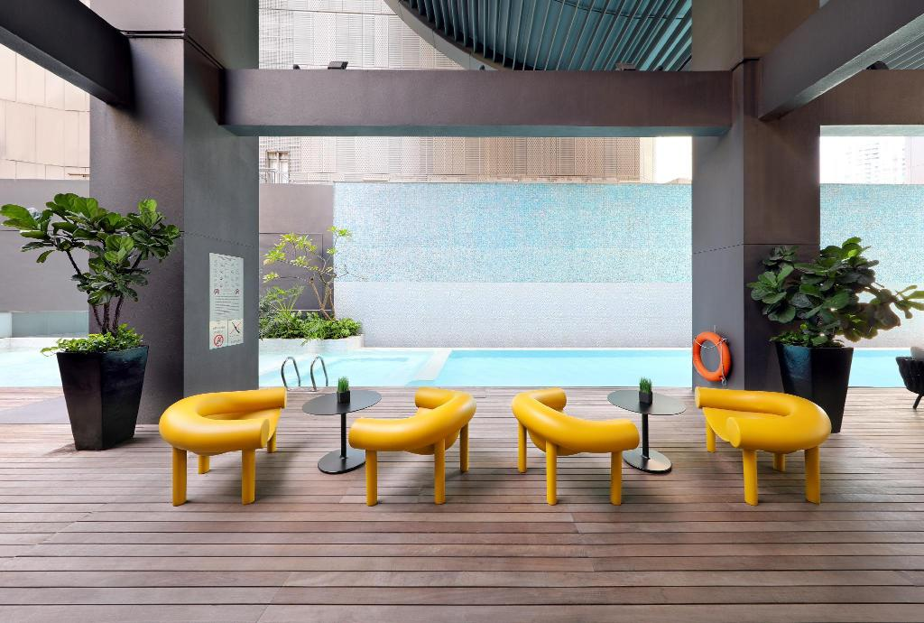 Pan pacific serviced suites orchard singapore room - Pan pacific orchard swimming pool ...