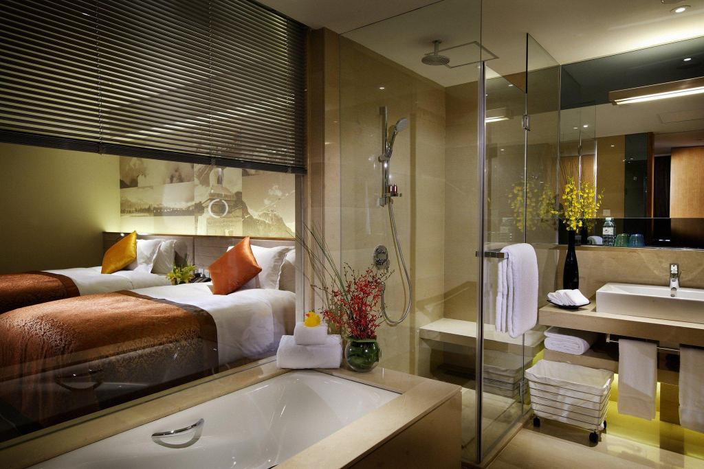 2 Single Beds Deluxe Non-smoking Crowne Plaza Beijing Sun Palace