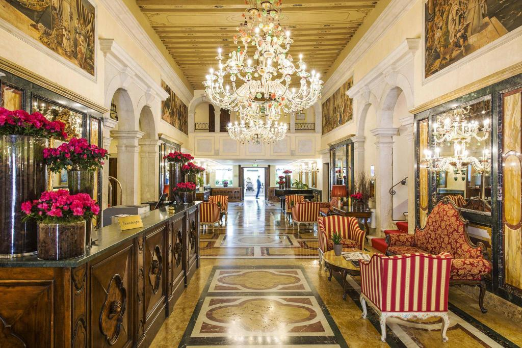 Lobby Grand Hotel Dei Dogi The Dedica Anthology Autograph Collection