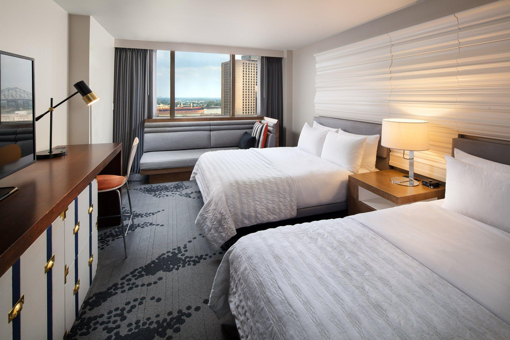 Superior, Guest room, 2 Double, City view