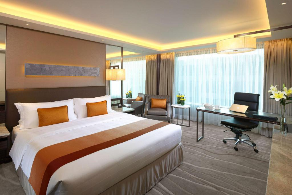 King Bed Premier City Room InterContinental Grand Stanford Hong Kong