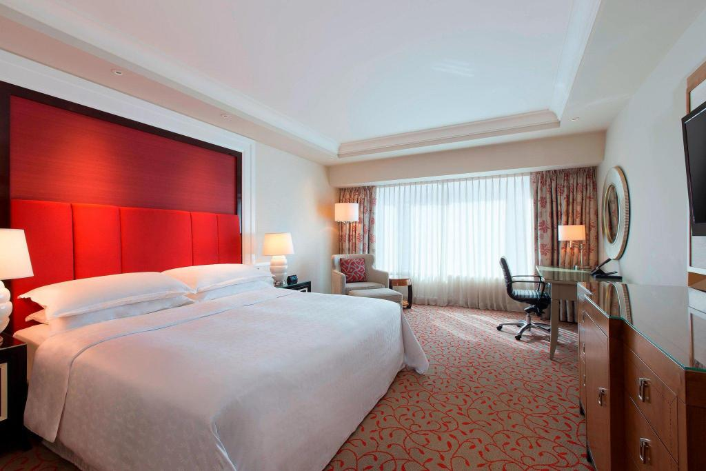 Deluxe, Guest room, 1 King Sheraton Grand Macao