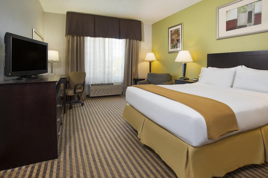 1 Bedroom Accessible Roll In Shower Non-Smoking Holiday Inn Express Hotel & Suites Kalamazoo