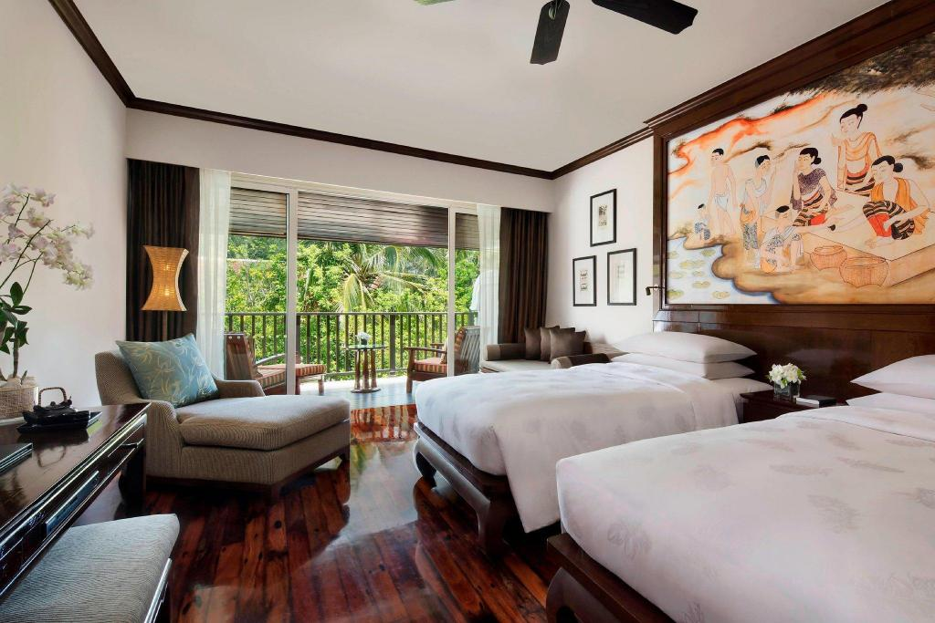 Deluxe Lagoon Pool View, Guest room, Balcony JW Marriott Khao Lak Resort and Spa