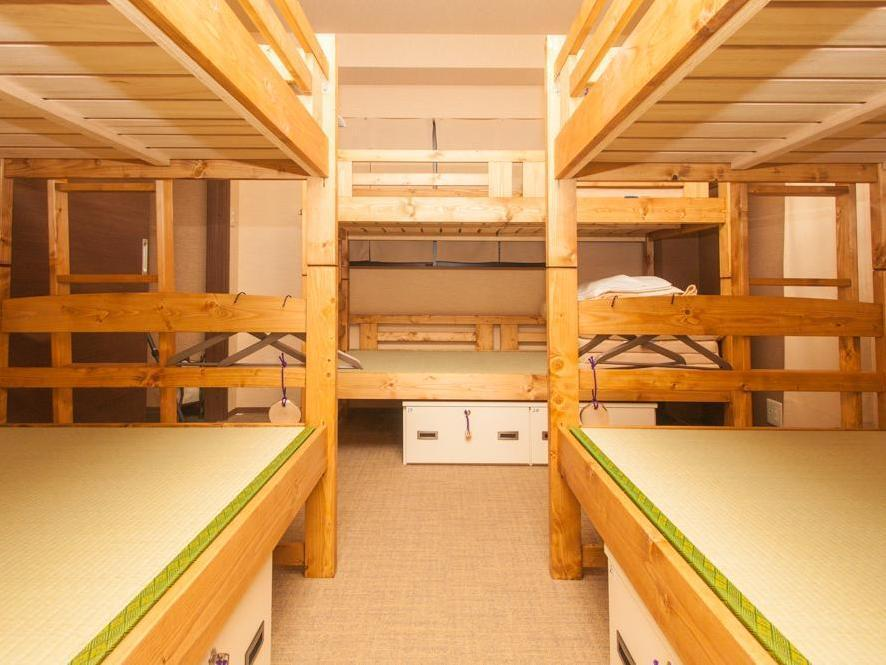 Female Dormitory 3 bunk beds with Tatami