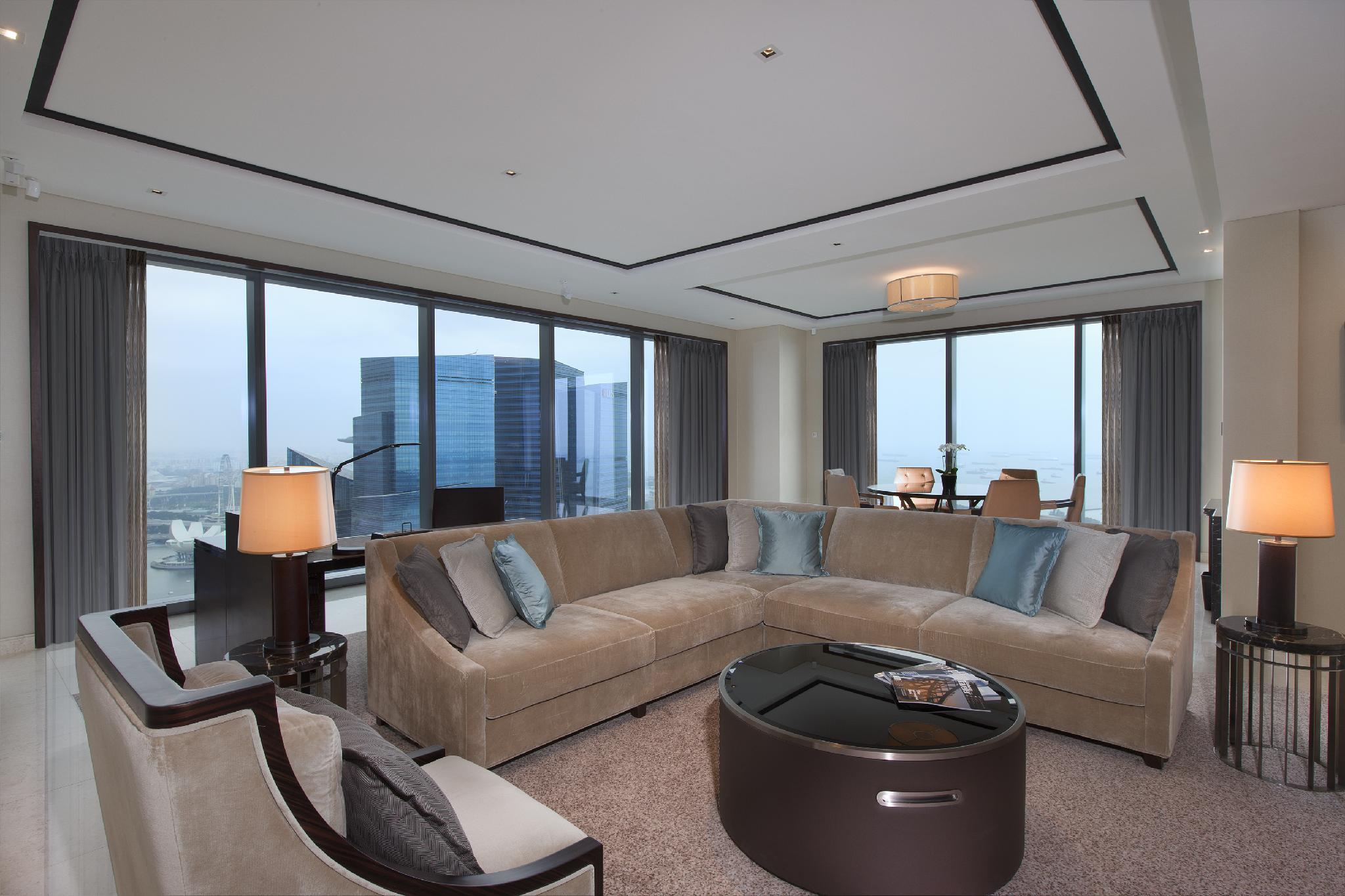Harbor View Suite, Club lounge access, 1 Bedroom Suite