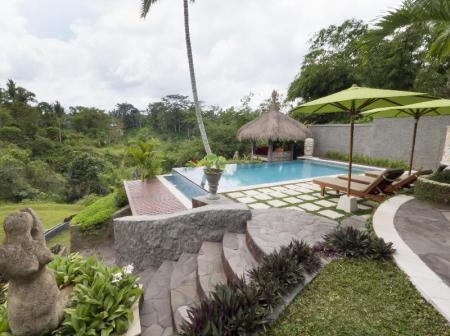 Swimming pool [outdoor] Kupu Kupu Private Villa