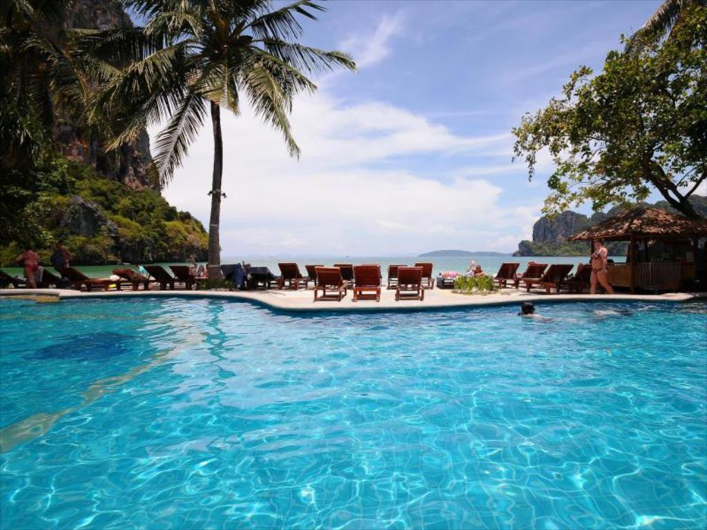utomhuspool Railay Bay Resort & Spa