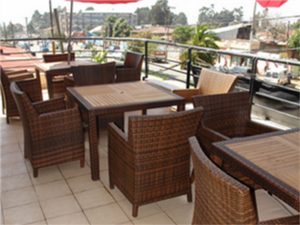 Balcony/terrace Soramba Hotel Business Plc