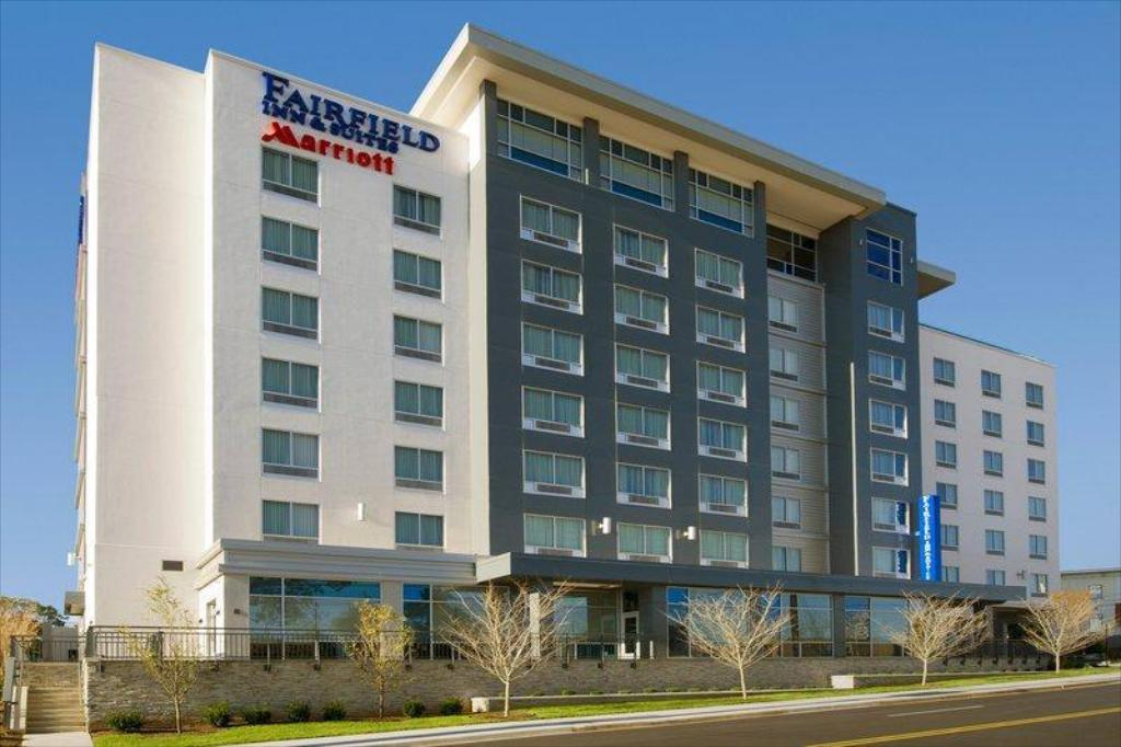 Fairfield Inn Suites Nashville Downtown The Gulch In