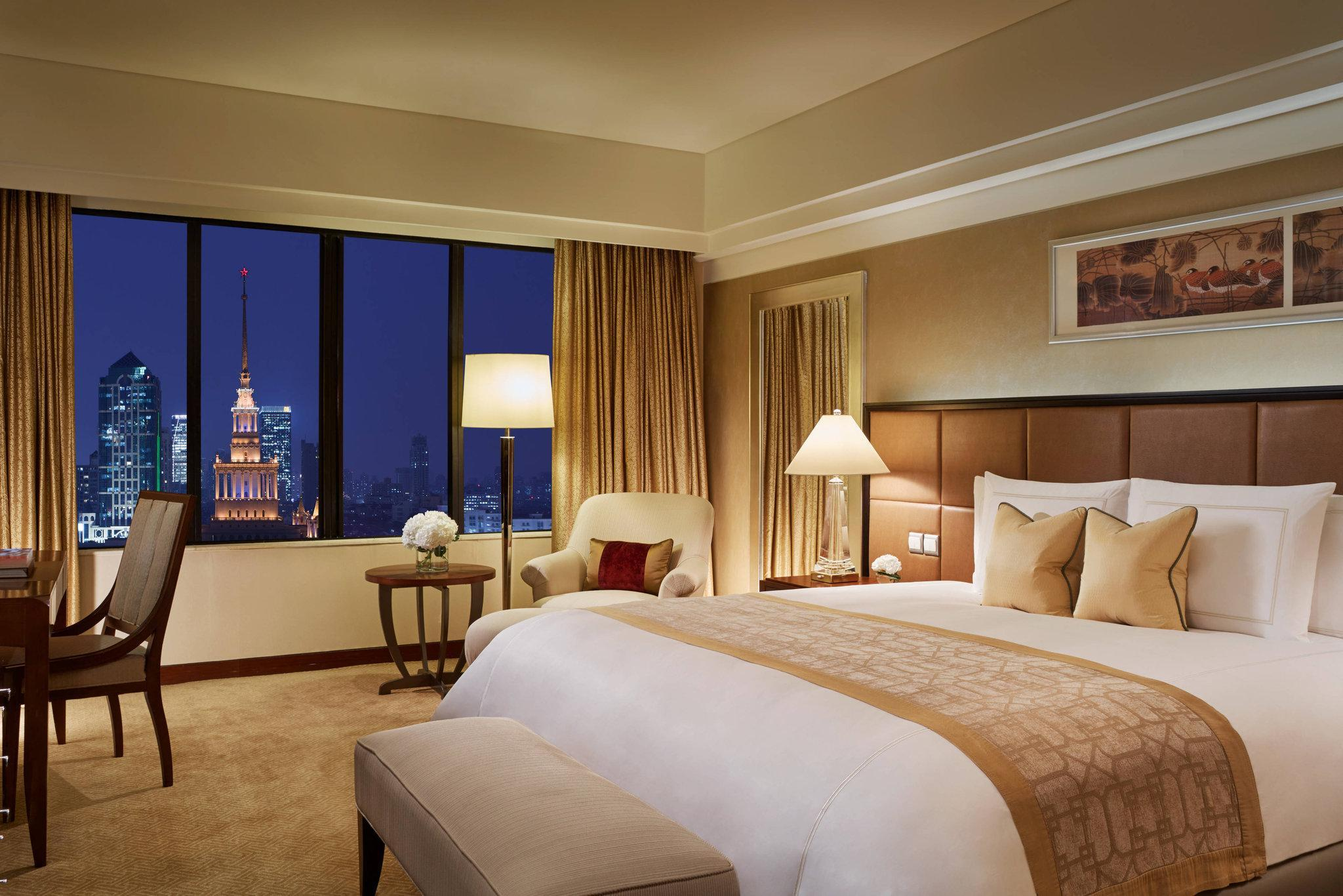 Shanghai Skyline Room, Guest room, Nanjing West RD view