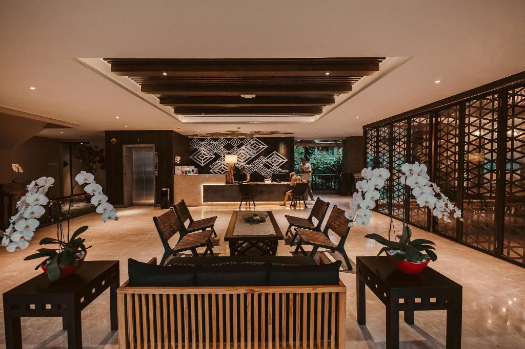 Lobby The Vira Bali Boutique Hotel and Suite