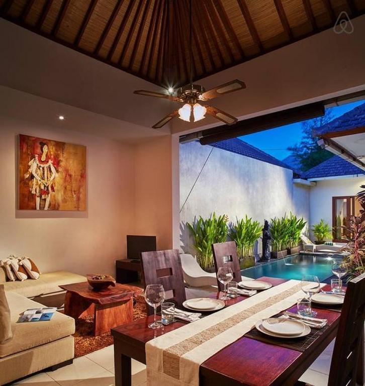 1br Private Villa Seminyak 20mint Walk 2 The Beach In Bali Room