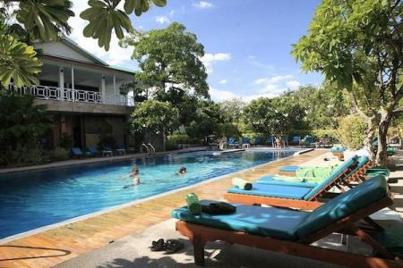 Swimming pool [outdoor] River Kwai Hotel