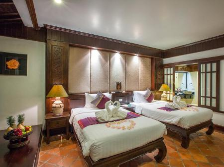 Deluxe Room with two twin beds The Hotspring Beach Resort & Spa