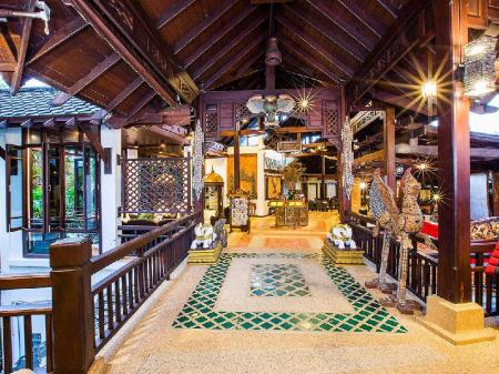 Lobby The Hotspring Beach Resort & Spa