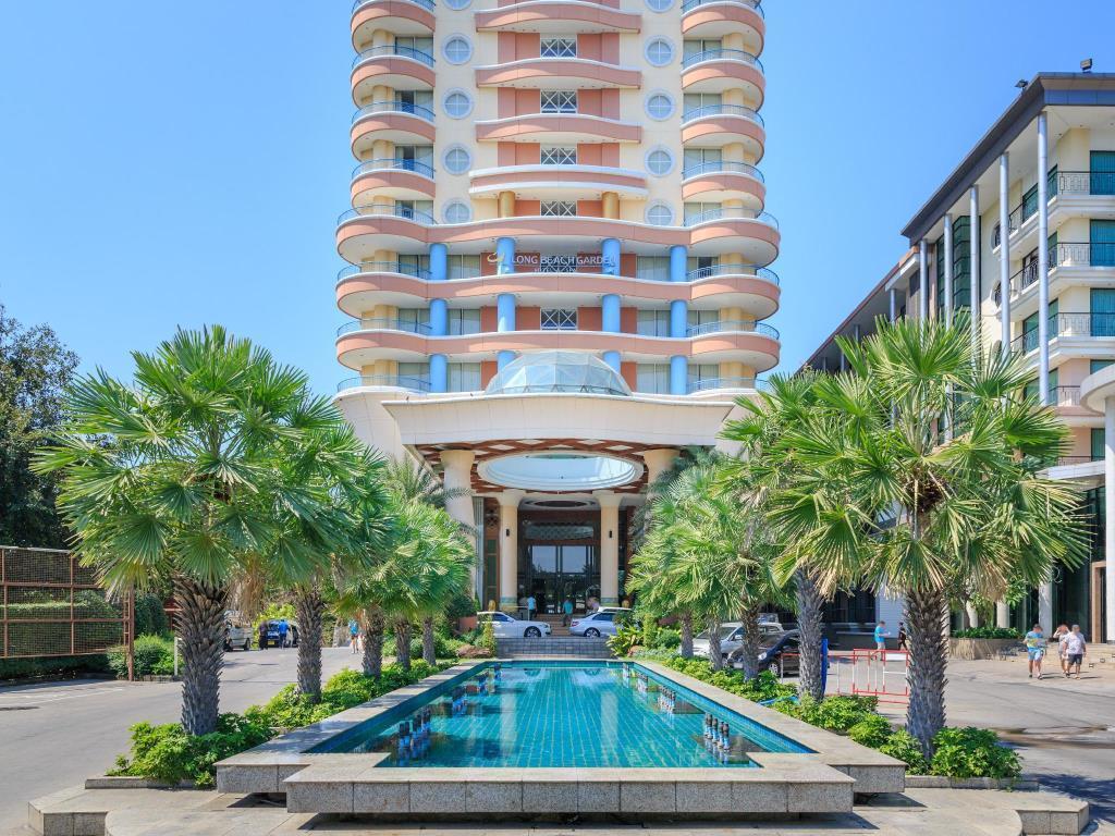 best price on long beach garden hotel spa in pattaya. Black Bedroom Furniture Sets. Home Design Ideas