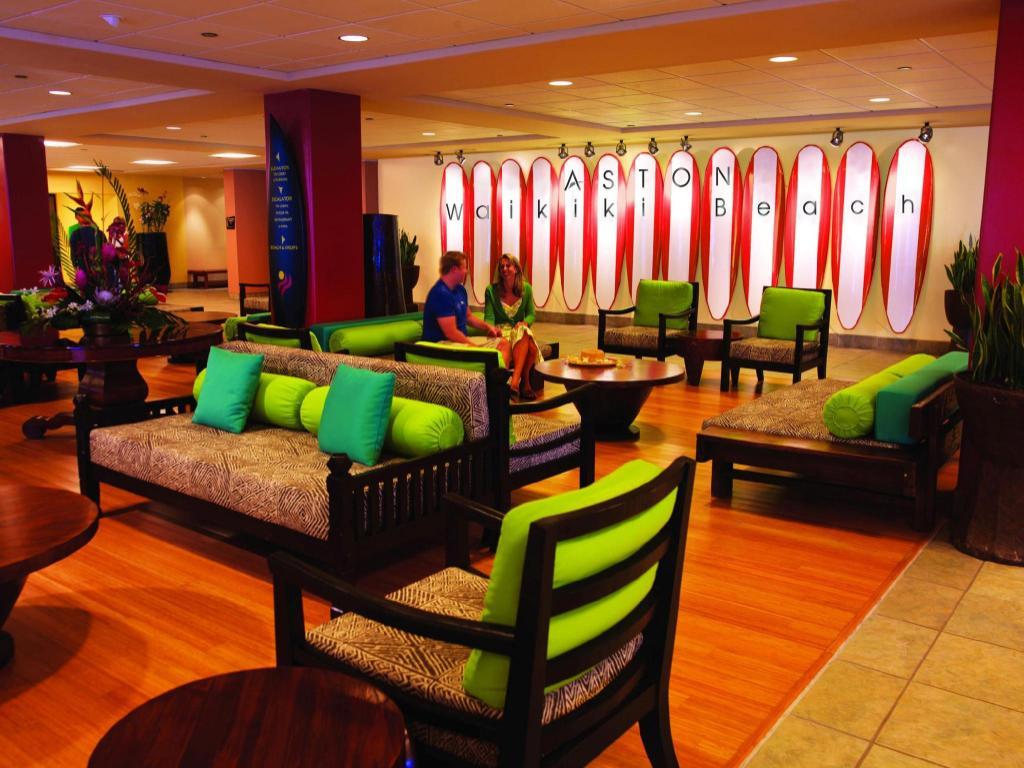 Lobby Aston Waikiki Beach Hotel