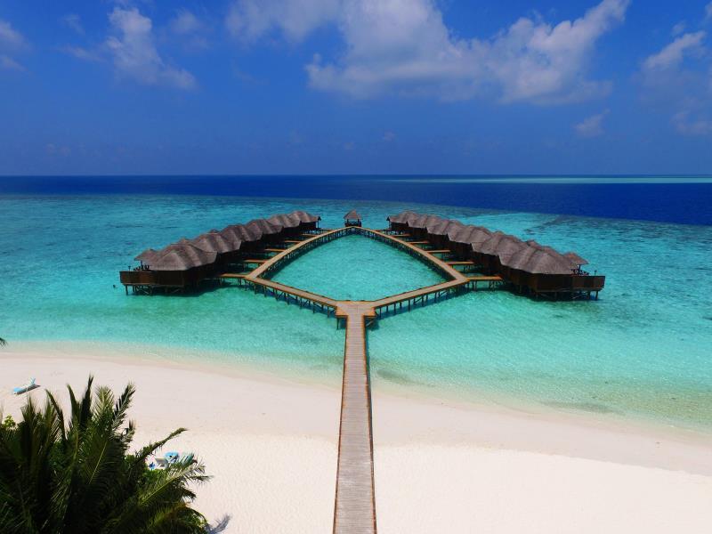 Fihalhohi Island Resort, Atoll Malé Sud, (Iles Maldives, Maldives ...
