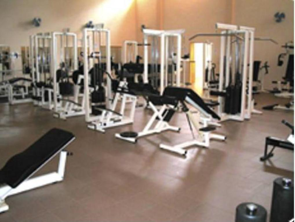 fitness centrum Hotel Aubert