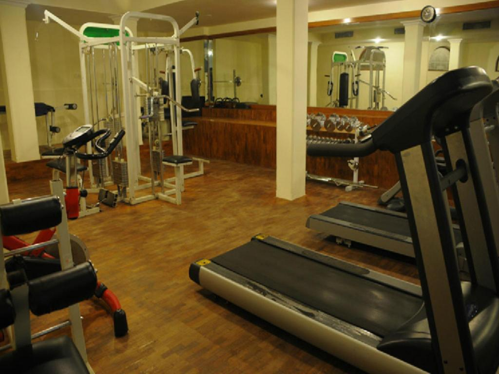 fitness centrum Bangalore International Hotel