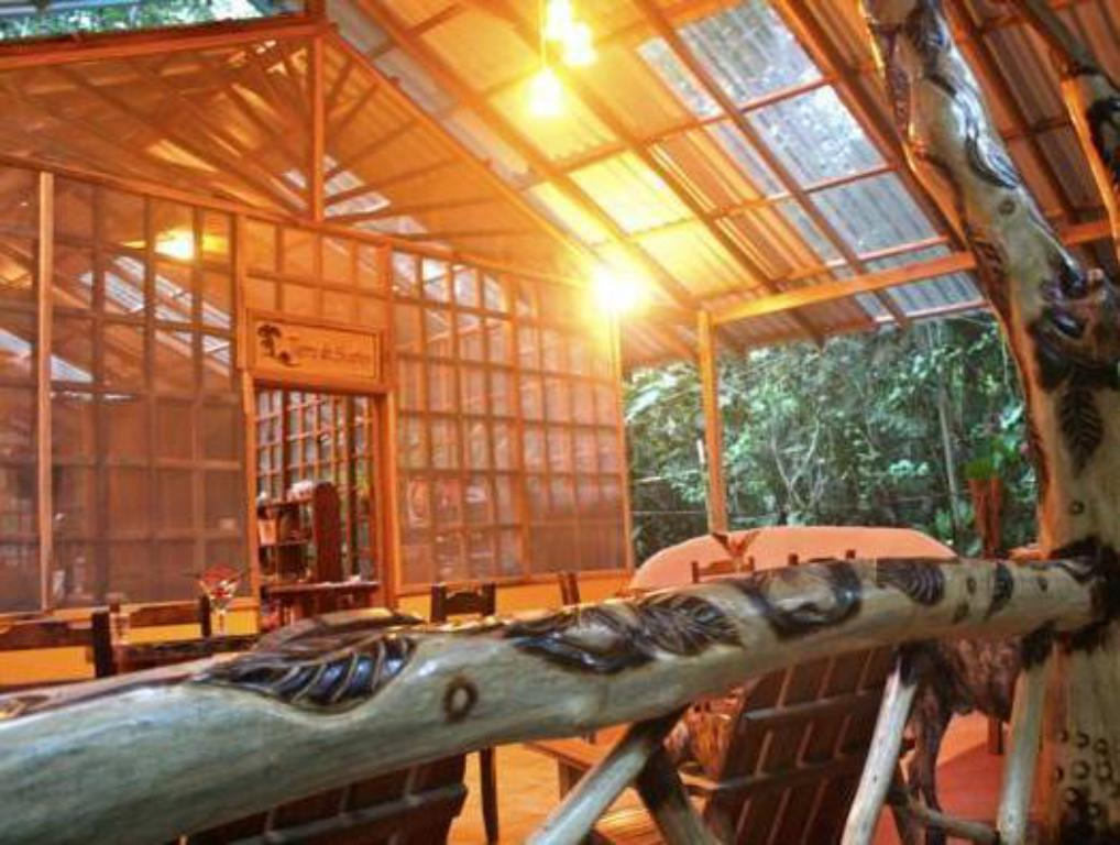 ล็อบบี้ Tierra de Sueños Lodge & Wellness Center