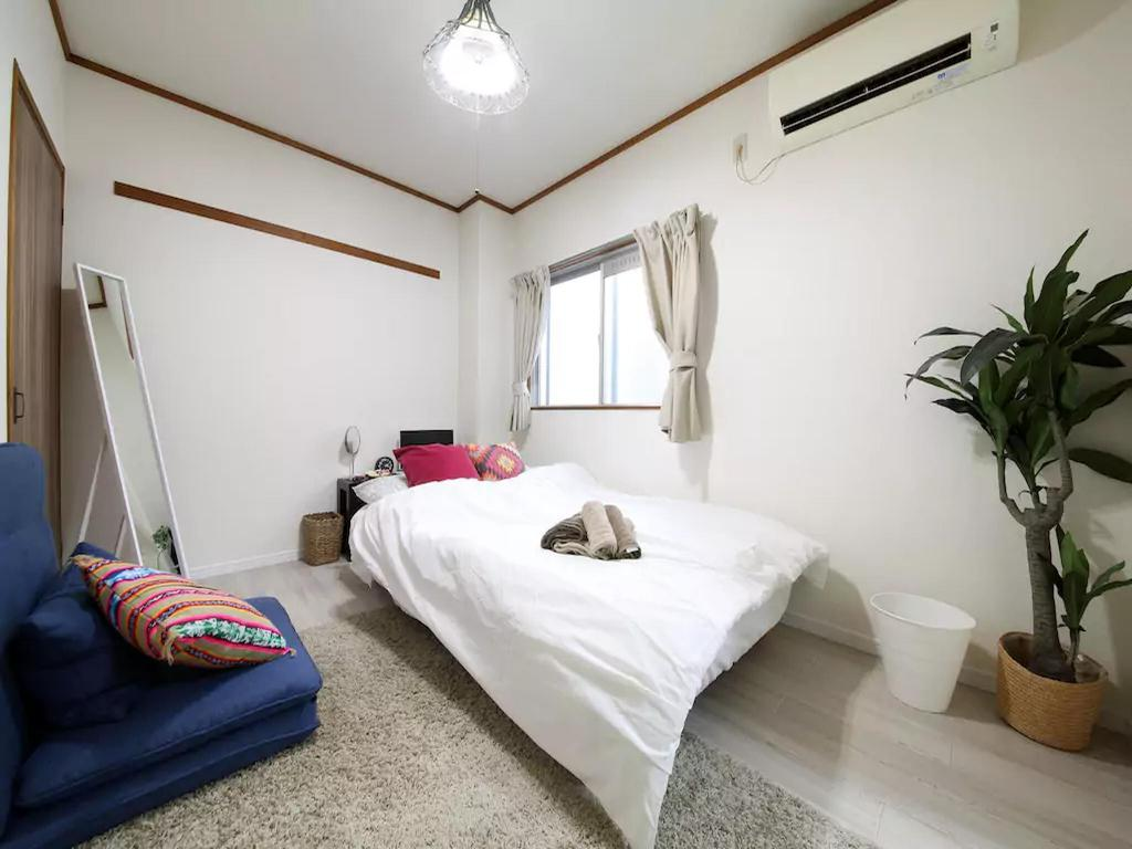 Apartment (25 m²), 1 Schlafzimmer und 1 eigene Badezimmer in Osaka ...