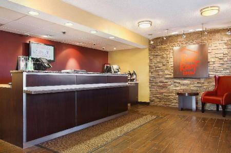 Лобби Red Roof Inn Harrisburg - Hershey