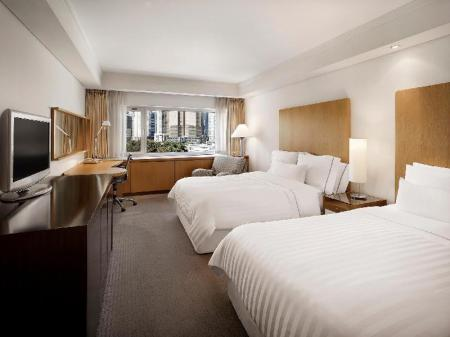 Deluxe Park Family, Guest room, 2 Twin/Single Bed(s) - Room plan The Westin Chosun, Busan