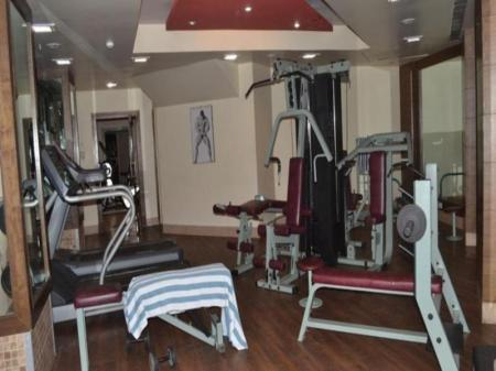 Fitness center The Pride Hotel Nagpur