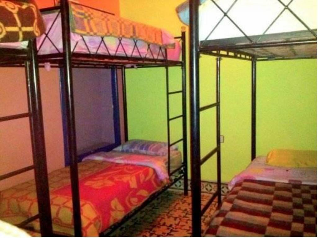 Bed in 8-Bed Dormitory Room Rainbow Marrakech