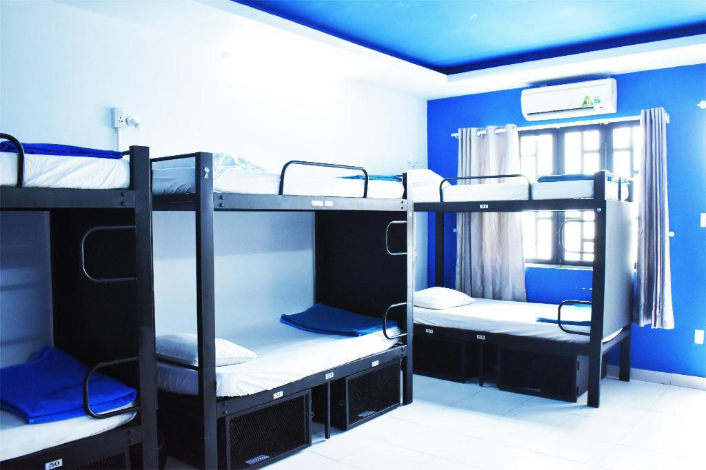 1 Bunk Bed in Dormitory - Mixed - Bed Hangout Hostel HCM