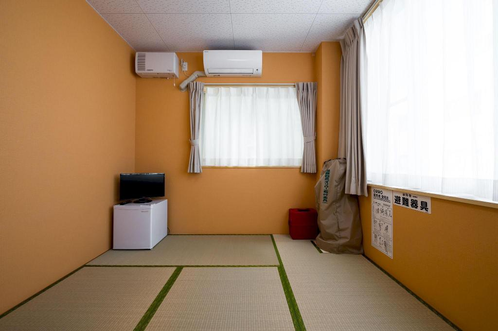 Japanese Style Room Non-Smoking - Room plan Guest House YUTAKA
