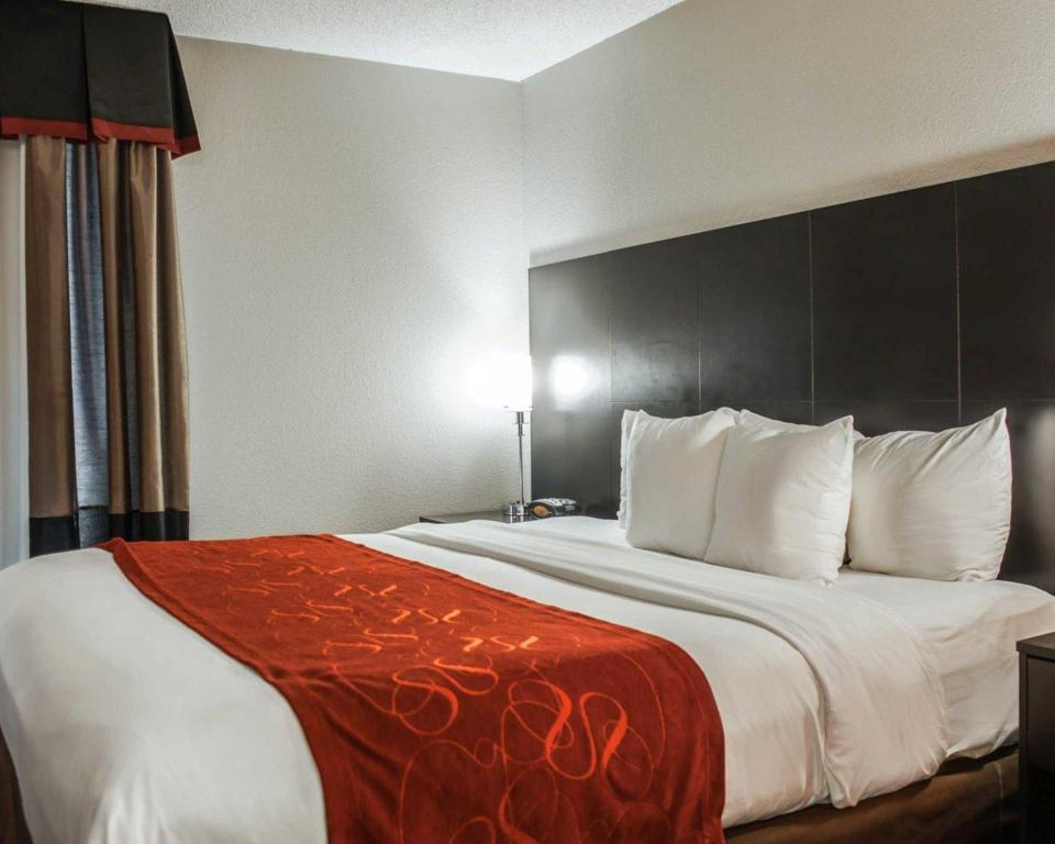 Non Smoking 1 King Suite - Bed Comfort Suites Airport Nashville