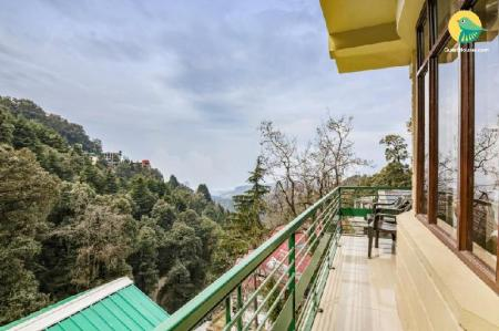 شرفة/ تراس 50sqm 1 bedroom, 1 Private bathroom  in Moti Tiba (GuestHouser 1 BR Boutique stay in Club Road, Dalhousie (9EAC))