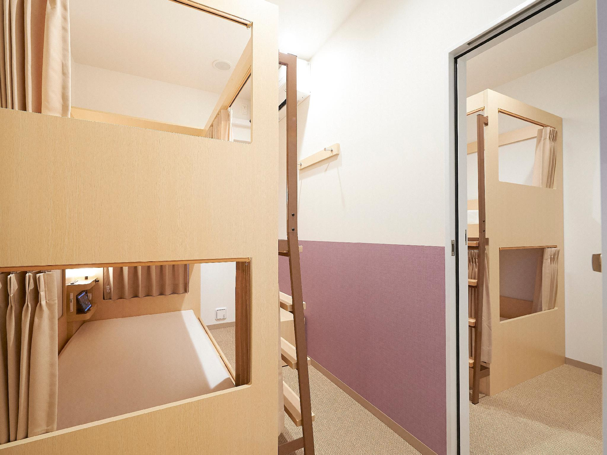 2 Connecting Rooms for 4 People with 2 Bunk Beds