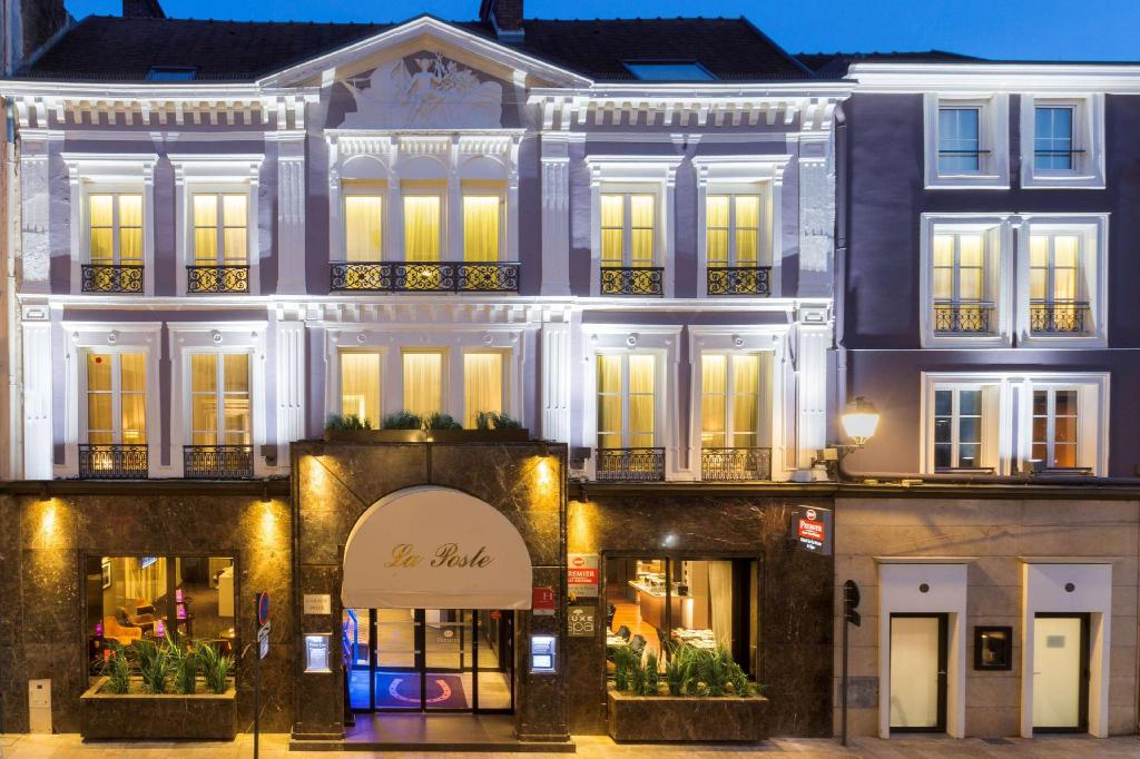 Best Western Hotel De La Poste  U0026 Spa  Centre-ville De Troyes   Troyes  France  - Tarifs