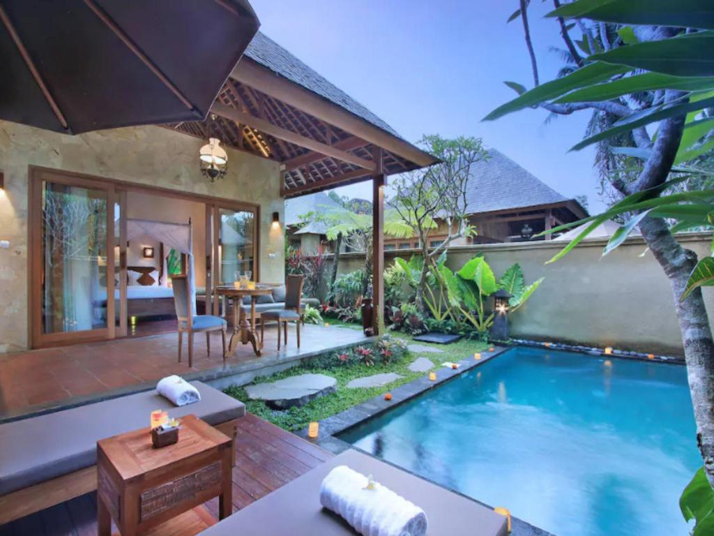 Graha Sandat Private Pool Villa Ubud Center Bali Offers Free Cancellation 2021 Price Lists Reviews