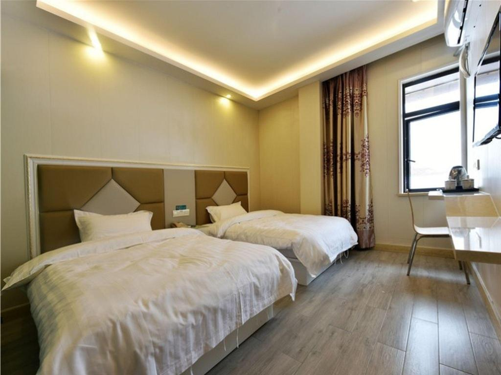 Business 2 llits Shell Hotel Shanghai Baoshan Hutai Road Branch