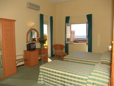 Dobbeltrom med havutsikt (Double Room with Sea View)