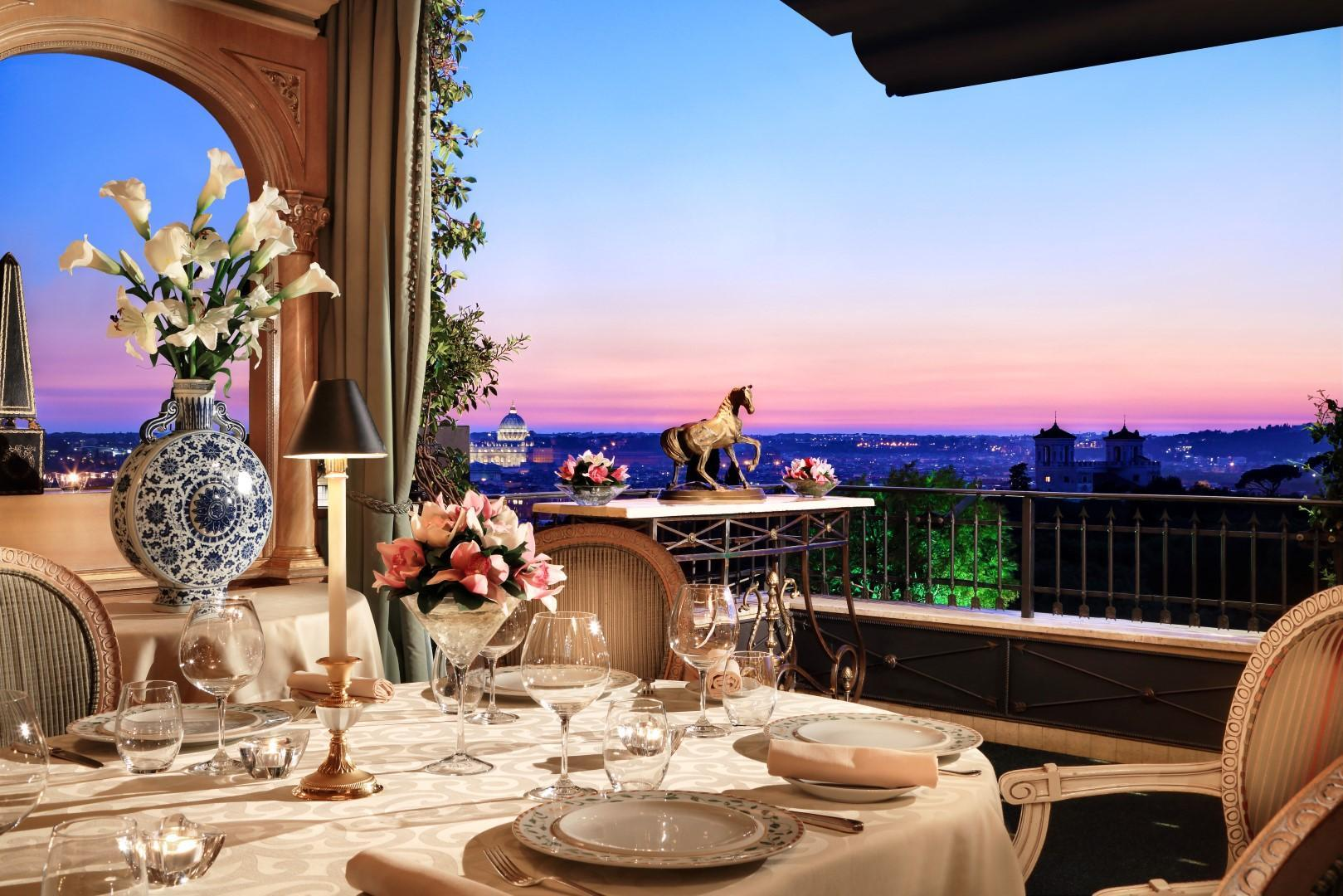 Suite Triple Terrace View Package Splendide at a Glance