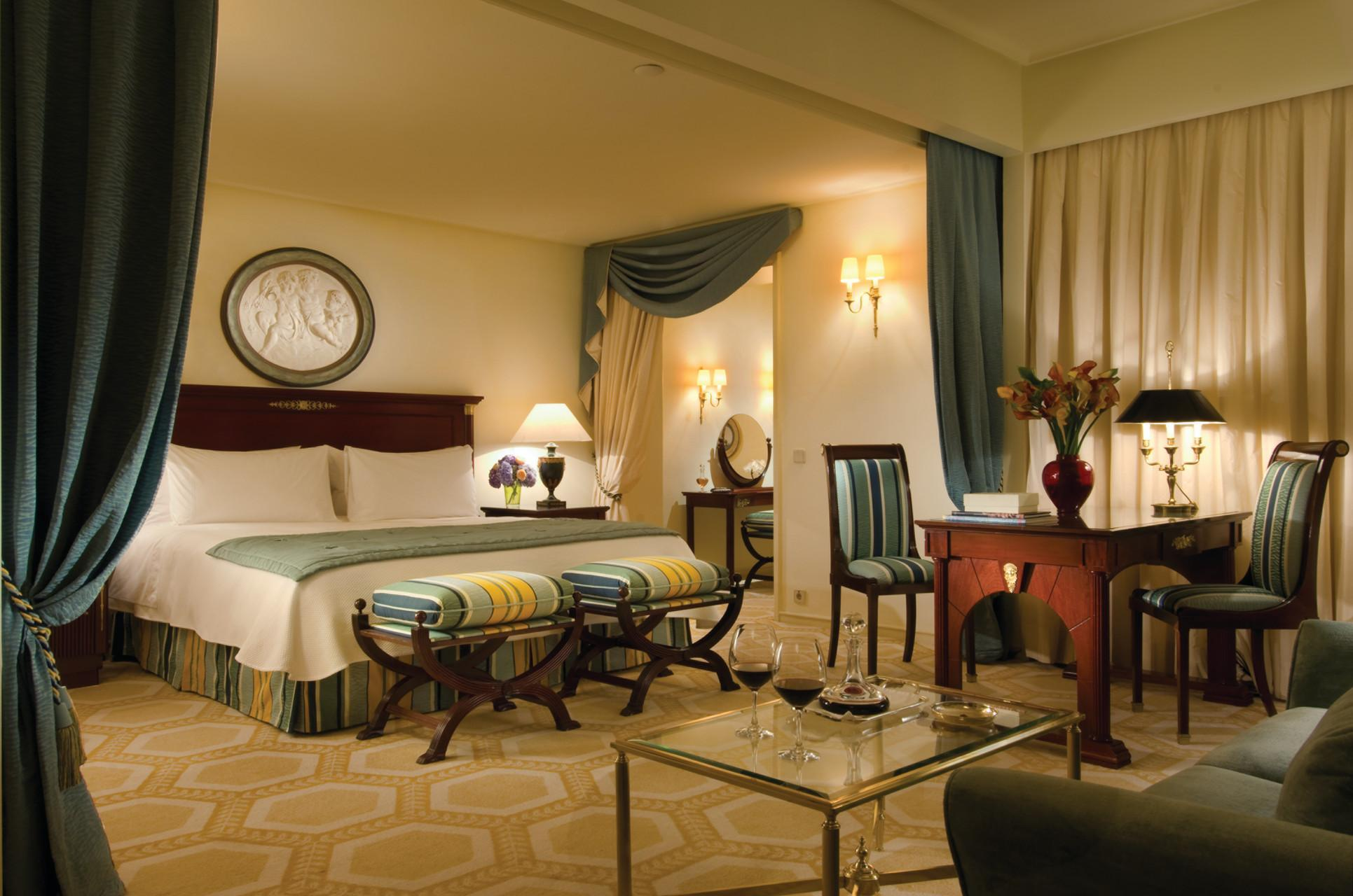 Suite Júnior Four Seasons amb llit extragran (Four Seasons Junior Suite with King Bed)