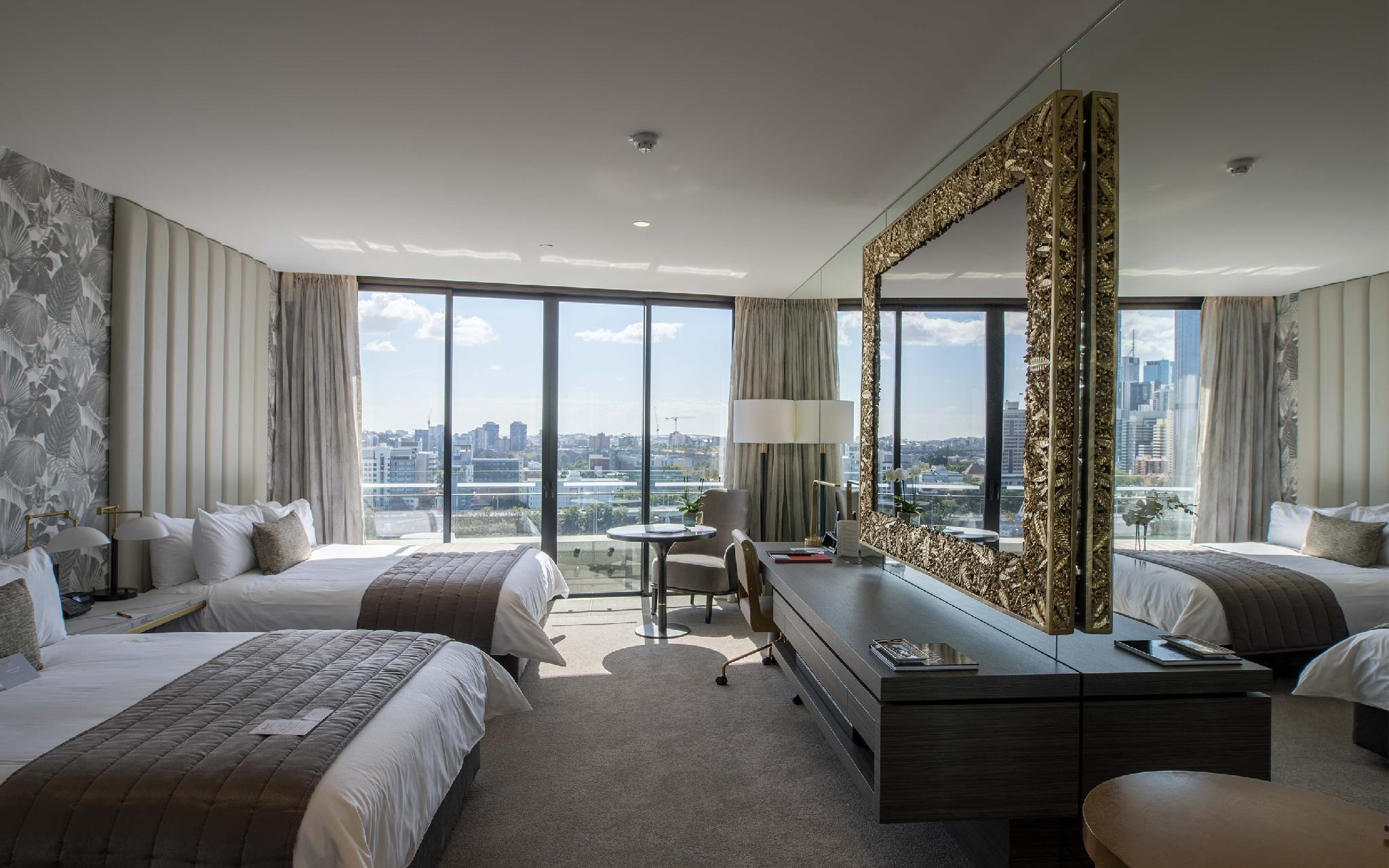 River and City View Twin Suite