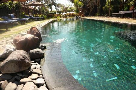 Swimming pool [outdoor] La Taverna Suites