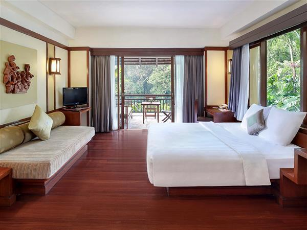 Kamar Superior King dengan Kebun (Superior King Garden Room)
