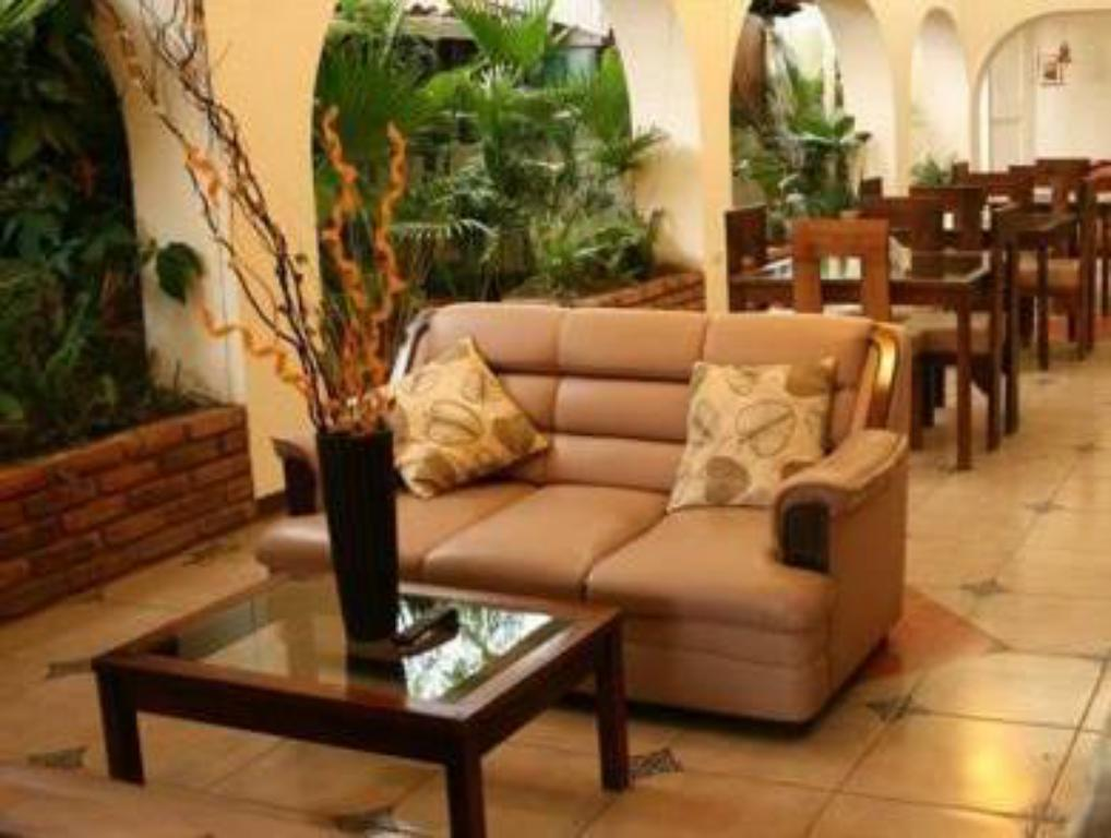 Interior view Hotel Lomas del Valle