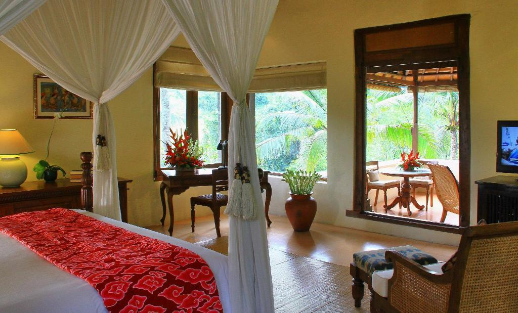 Ibah Suite - Bed Warwick Ibah Luxury Villas & Spa
