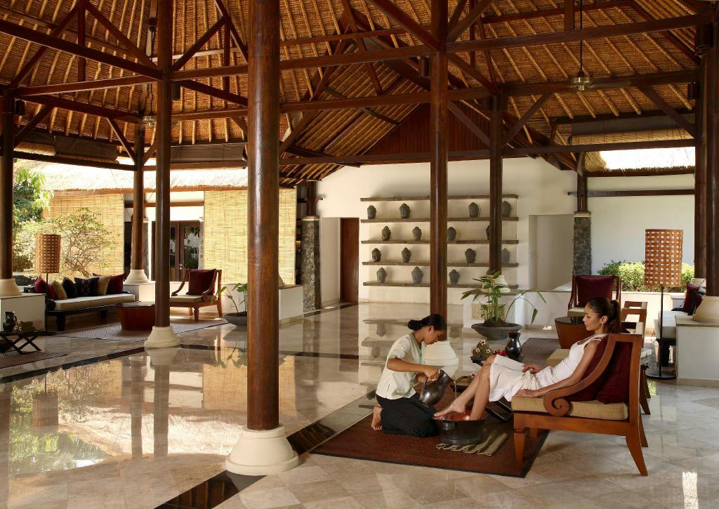 Lobby Spa Village Resort Tembok (Spa Village Resort Tembok All Inclusive)